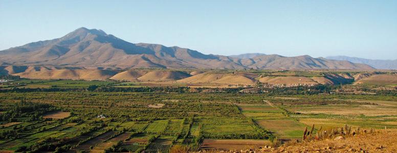 Chile landskap