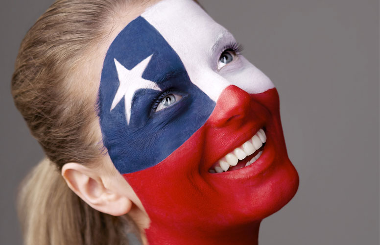 Chile tar plass